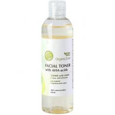 OZ! OrganicZone Тоник для лица с AHA-кислотами, для жирной и проблемной кожи 250 мл OZ! Organic Zone